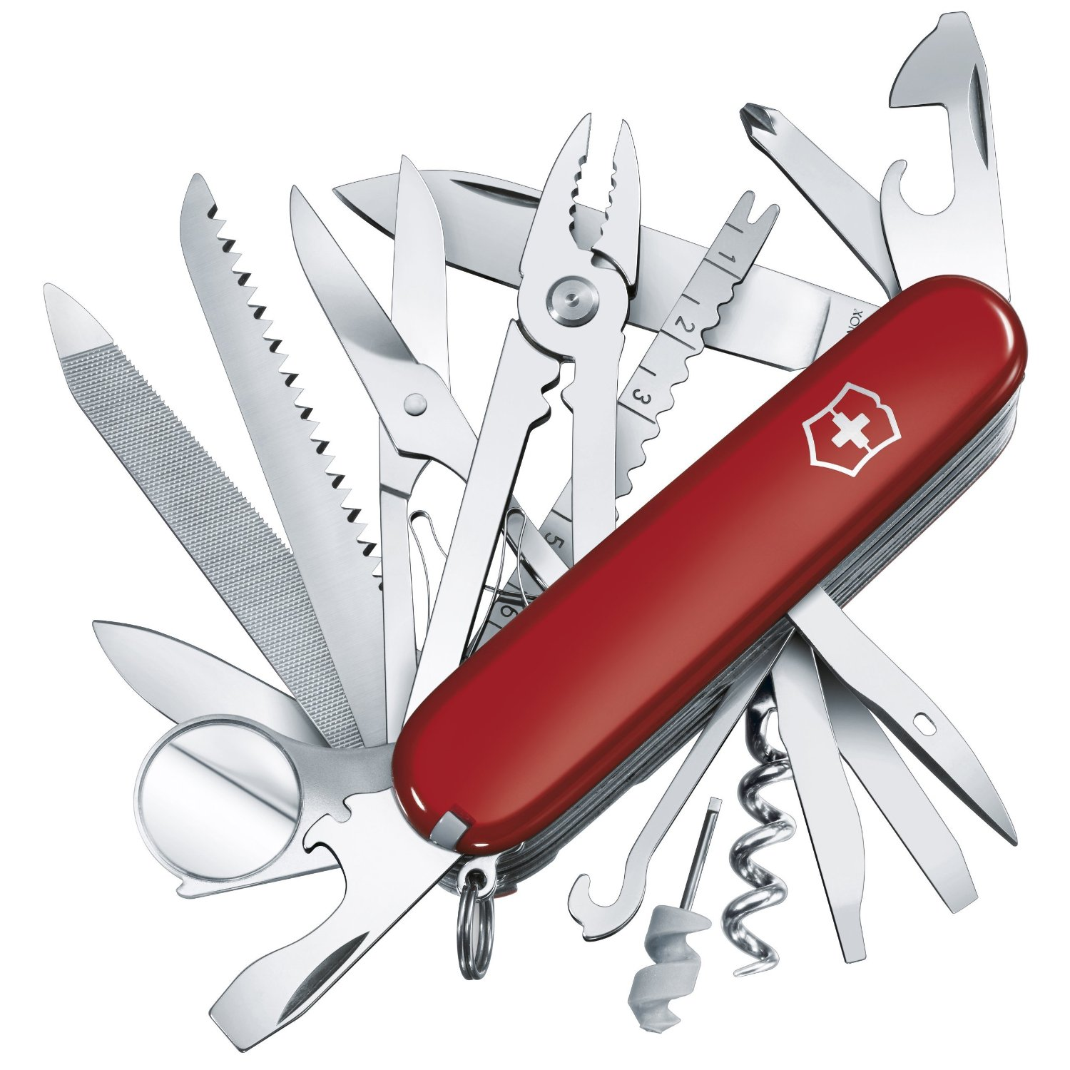 Swiss Army Champ Multitool Knife