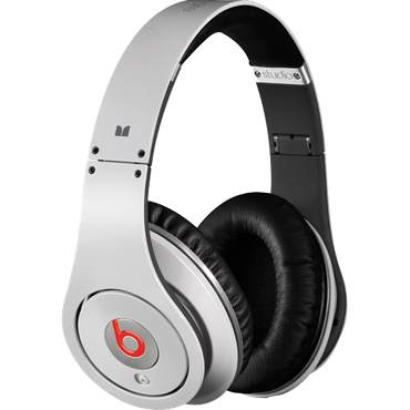 Beats Studio Over-Ear Headphone (White)