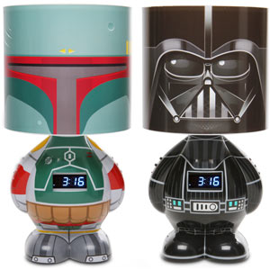 Star Wars MP3 Alarm Clock Lamp