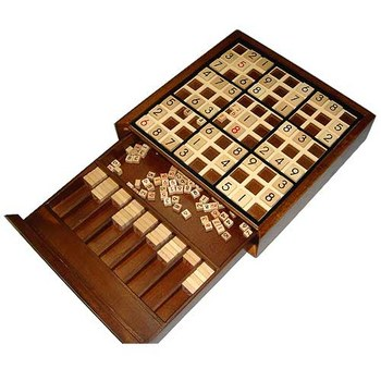 Deluxe Wooden Sudoku Board Game