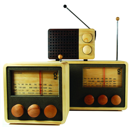 Magno Wooden Radio