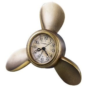 Howard Miller Propeller Alarm Clock
