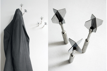 Dart Coat Hooks