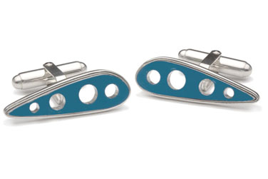 Classic Pan Am Boeing 707 Recycled Cufflinks