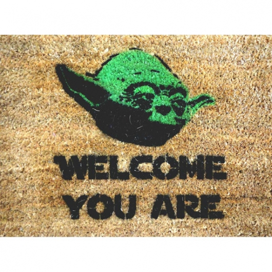 Star Wars Yoda Doormat | For Men Gifts