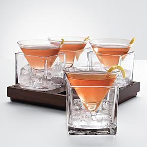 Cubist Martini Set