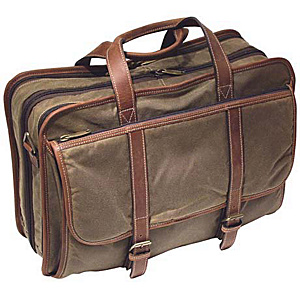 Korchmar Expandable Computer Brief Bag