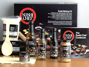Sushi Chef 10-Piece Sushi Kit