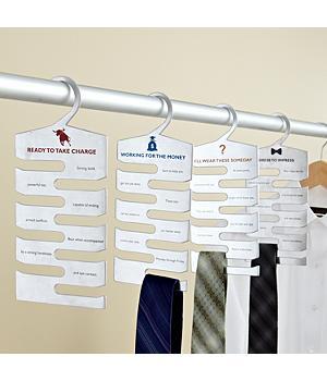 Tie Hangers Set