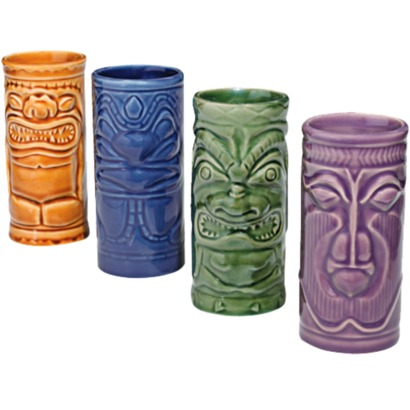 Tiki Ceramic Mugs