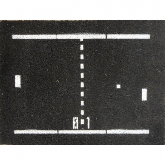 Atari Pong Doormat