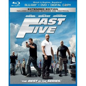 Fast Five (Two-Disc Blu-ray/DVD Combo)