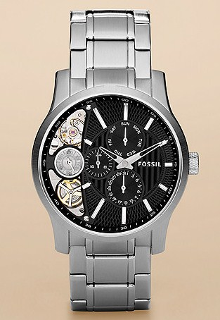 Twist Stainless Steel Watch