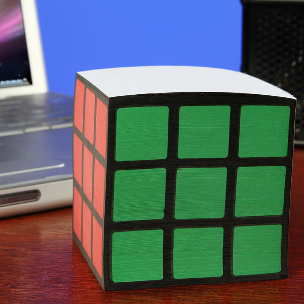 Rubik's Cube Note Pad