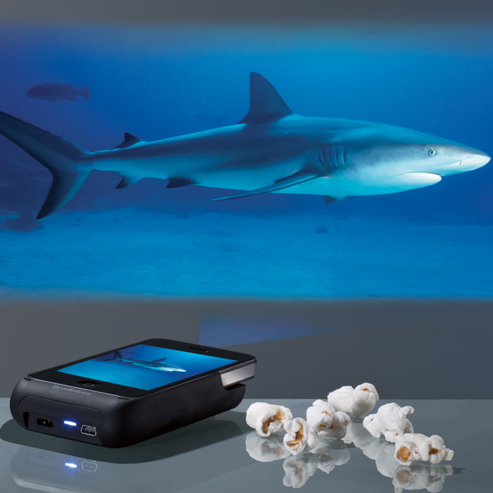 Pocket Projector for iPhone 4(S)