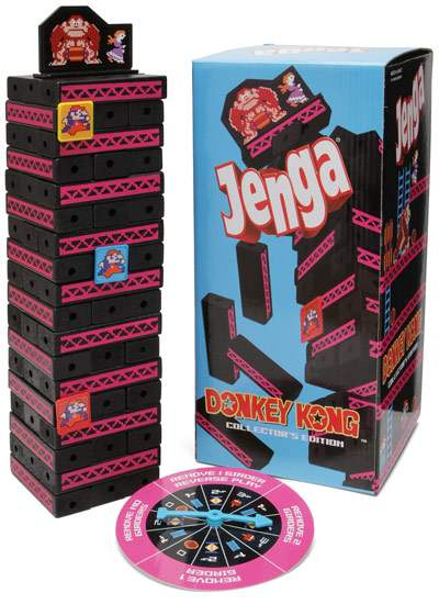 Donkey Kong Jenga