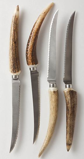 Staghorn Steak Knives