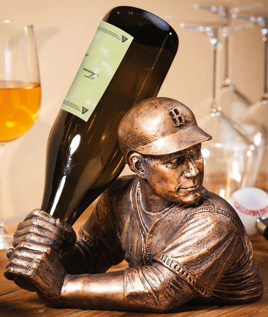 Baseball Player Wine Bottle Holder