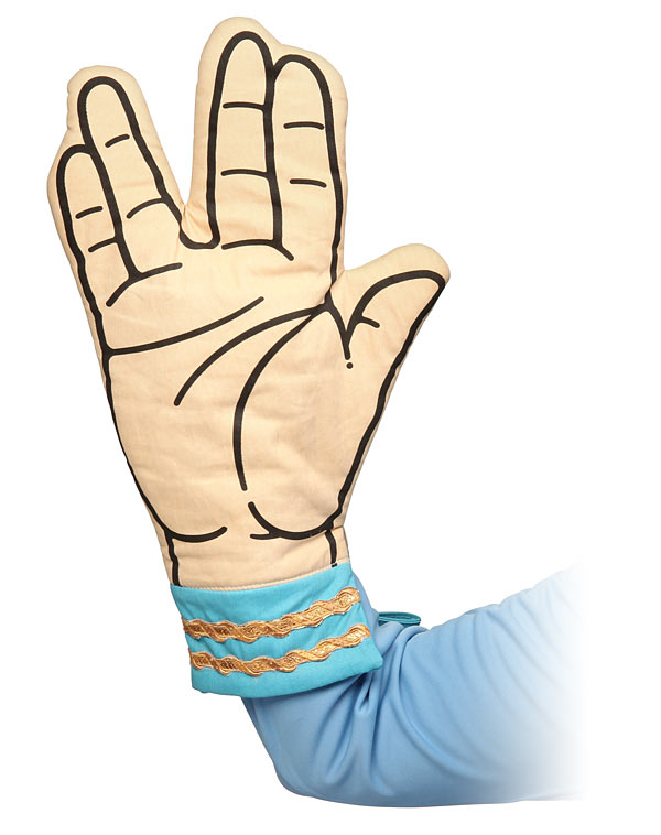 Star Trek Spock Oven Mitt