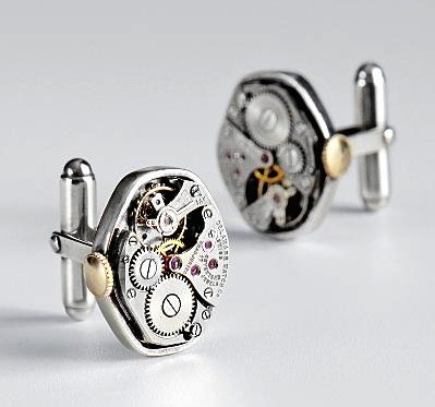 Watch Parts Cuff Links