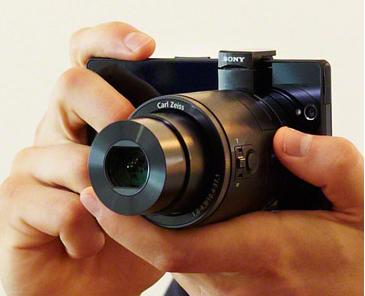 Sony Smartphone Attachable Lens-Style Camera DSC-QX10/B