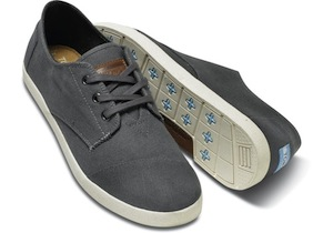 Toms Ash Canvas Men's Paseos